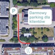 darmowy parking dla klientów